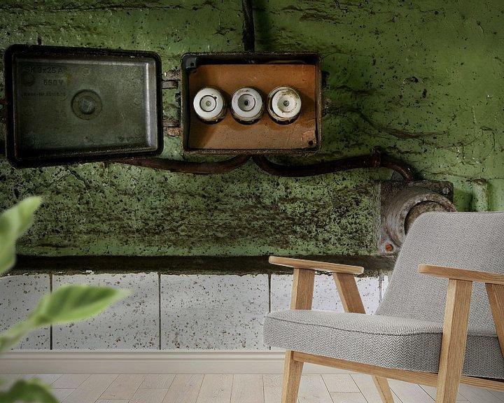 Sfeerimpressie behang: De vergaande stoppen van Arthur van Orden