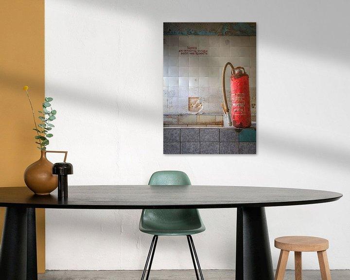 Sfeerimpressie: De badkamer van Arthur van Orden