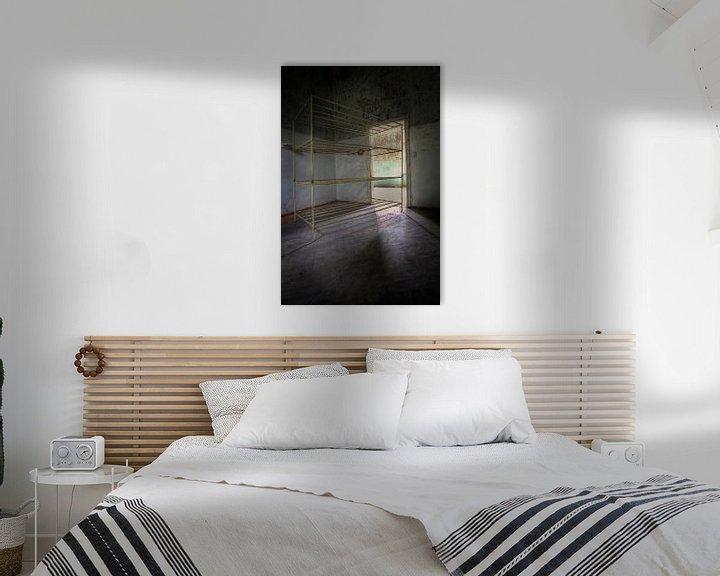 Sfeerimpressie: De slaapkamer van Arthur van Orden