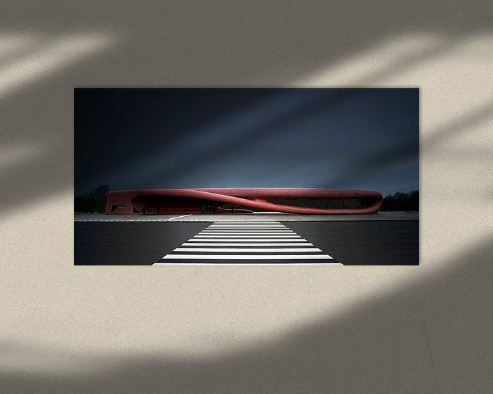 Sfeerimpressie: Bushalte Hoofddorp van Arthur van Orden