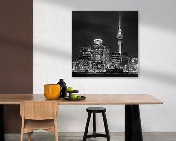 Die Skyline von Auckland