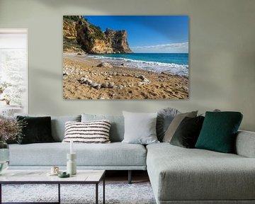 Strand, zon en Middellandse Zee - Cala Moraig 1 van Montepuro