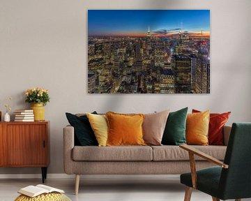 Skyline New York City van Marcel Kerdijk