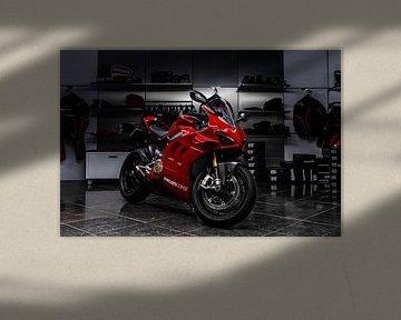 Ducati Panigale V4S sur Bas Fransen