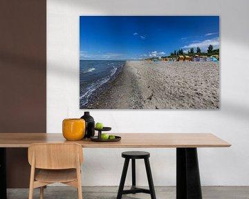 Sandstrand auf der Insel Poel an der Ostsee von Reiner Conrad