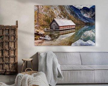 Bootshaus am Obersee von Dirk Rüter