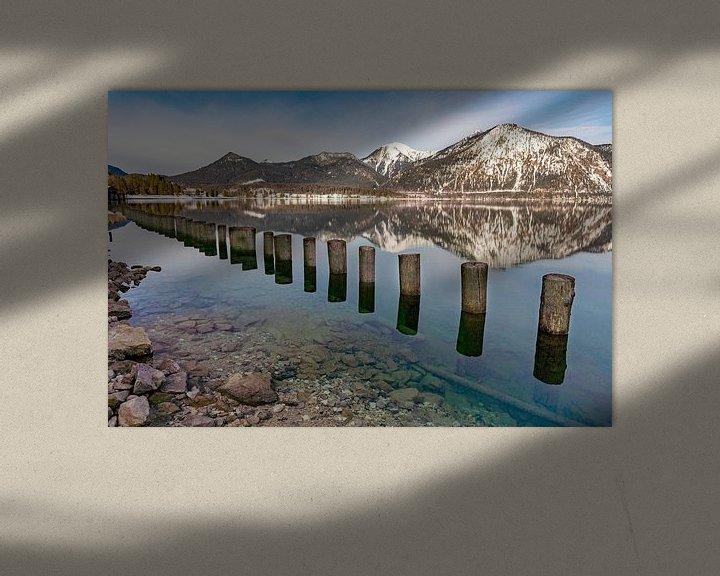 Beispiel: Walchensee im Winter von Einhorn Fotografie