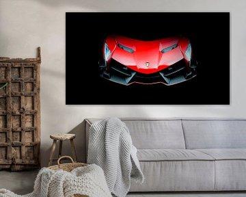 Lamborghini Veneno | Rode supercar van Jesse Barendregt