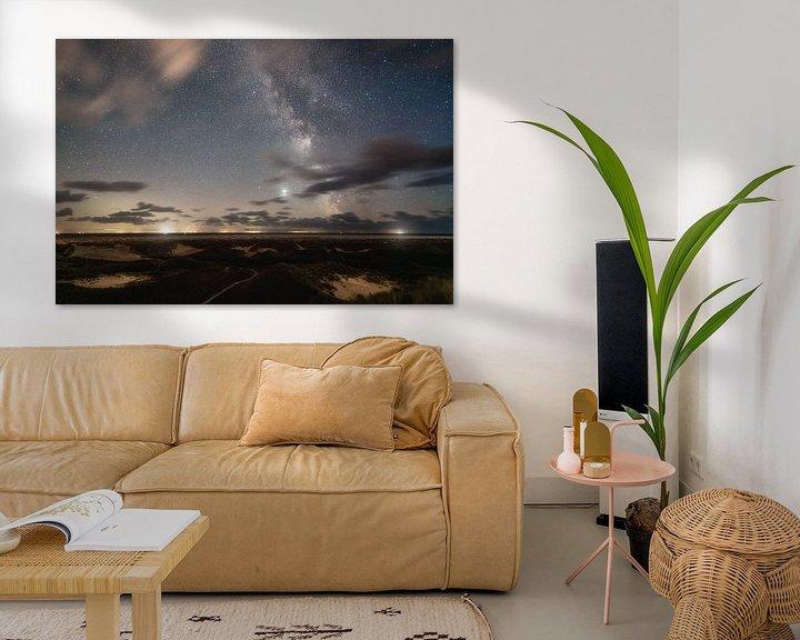 Beispiel: Dünenlandschaft und Milchstraße auf Amrum von Oliver Henze