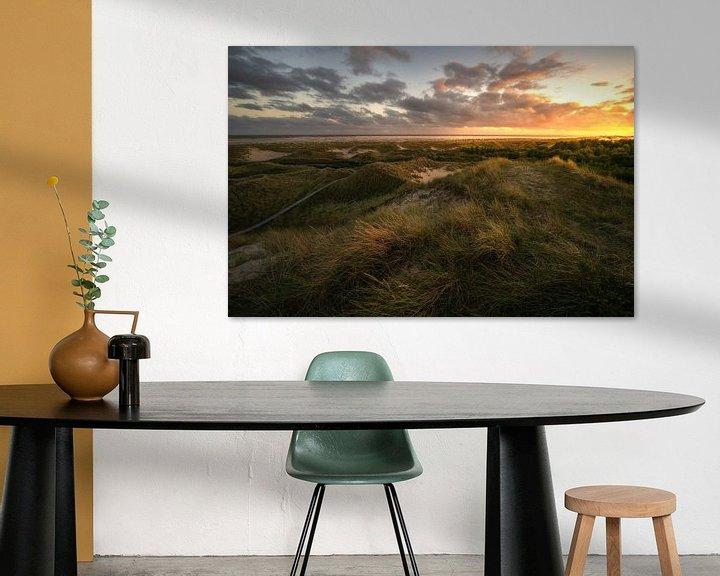 Beispiel: Sonnenuntergang über den Dünen von Oliver Henze