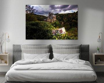 Kasteel Eltz in Duitsland met een 500 D mark biljet van Fotos by Jan Wehnert