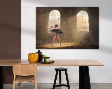 Ballet peint d'Urbex