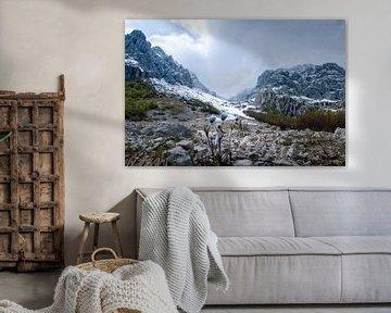 Sirente Vileno nationaal park Abruzzo van Willem Beesems