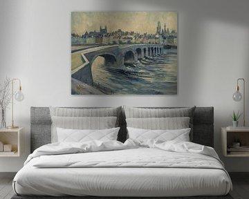 Die mooie Oude Brug van Maastricht
