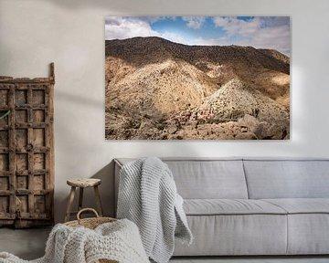 Dorpje tussen de bergen, Atlasgebergte