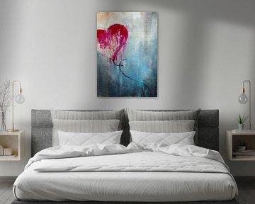 Flying Heart van Maria Kitano