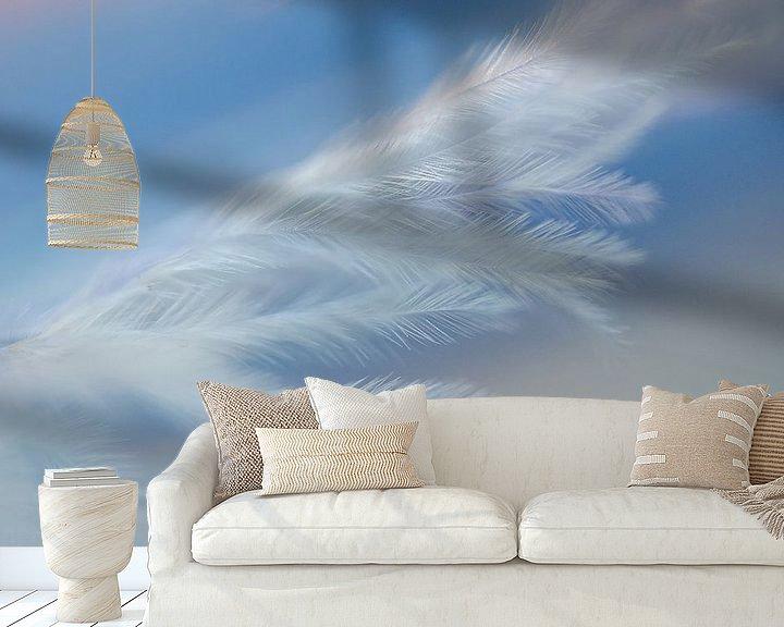 Sfeerimpressie behang: Veer Abstract I van Jessica Berendsen