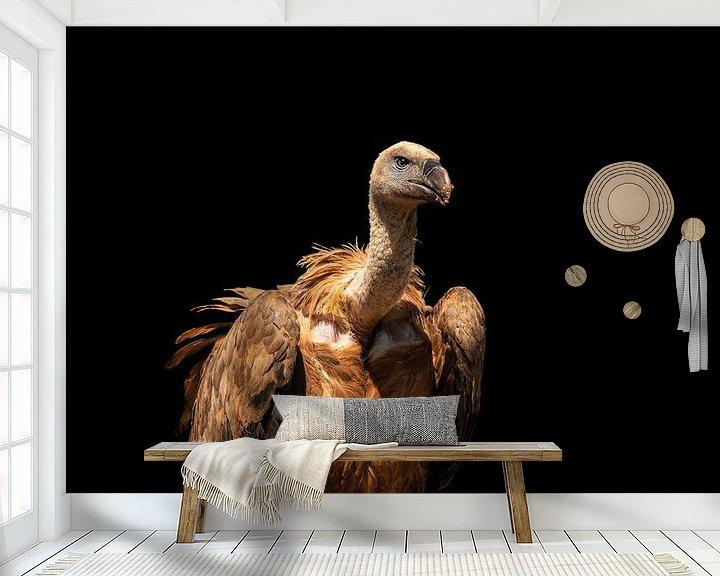 Sfeerimpressie behang: Vale Gier van Marc Vandijck