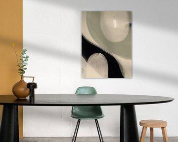 Modern Abstrakt I von YOPIE illustraties