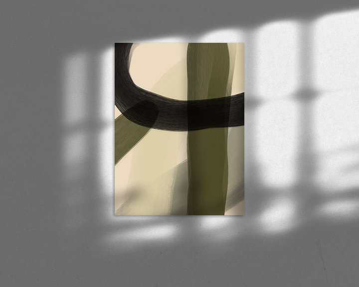 Beispiel: Moderne Kunst VI von YOPIE illustraties