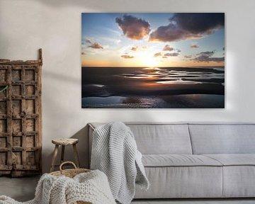 zonsondergang Ameland van Martijn Werkman