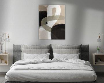 Moderner abstrakter Twist von YOPIE illustraties