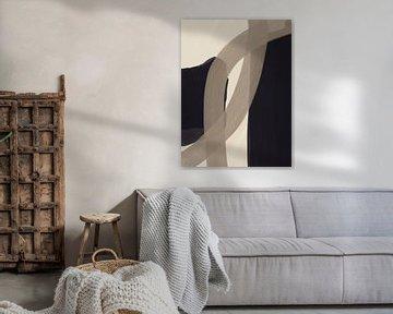 Modern abstrakt - zusammen von YOPIE illustraties