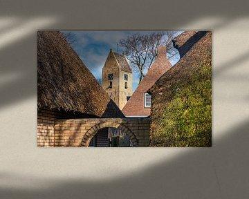 Der Kirchturm von Nes von Evert Jan Luchies