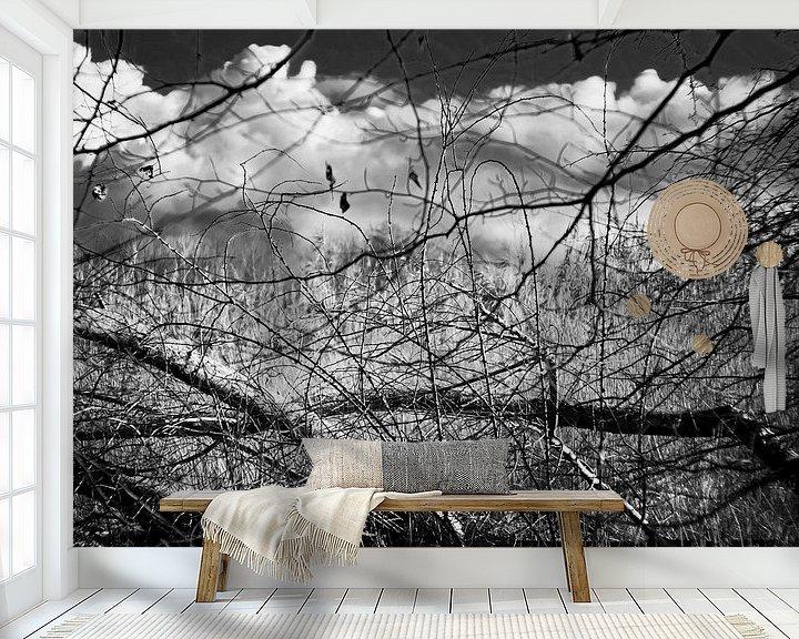 Beispiel fototapete: Das Geheimnis des Waldes im Winter von Rene  den Engelsman