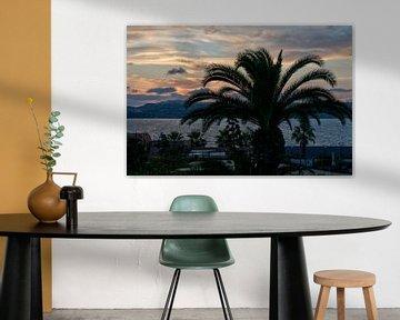 zonsondergang op malta van Compuinfoto .