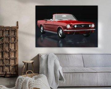 Ford Mustang Cabriolet driekwart zicht