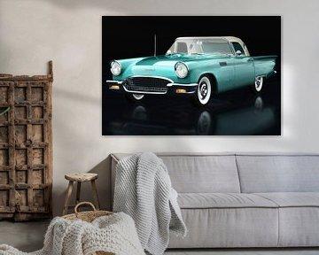 Ford Thunderbird Convertible driekwart zicht