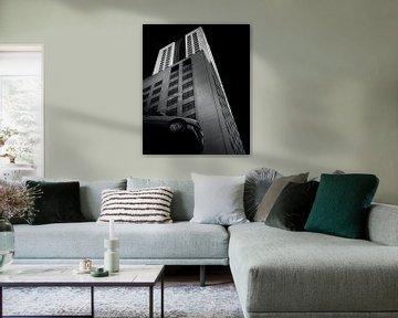 Wolkenkratzer Rotterdam von Martin van Lochem