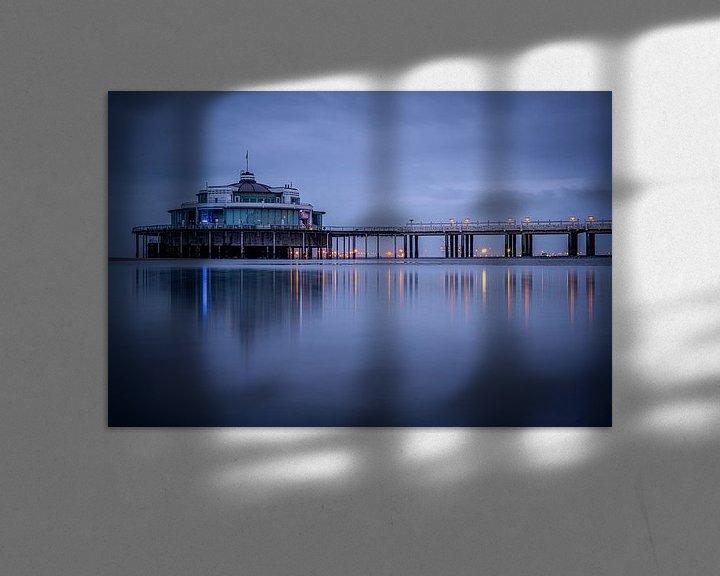 Sfeerimpressie: De pier van Blankenberge van Jim De Sitter