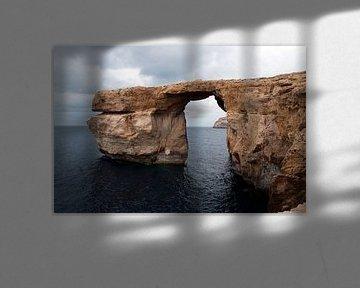 de azuur window rots bij malta van ChrisWillemsen