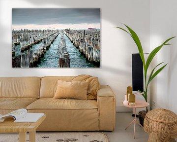 Princes Pier, Melbourne, Australië van The Book of Wandering