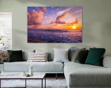 LP 71200119 Sunrise over Atlantic Ocean sur BeeldigBeeld Food & Lifestyle