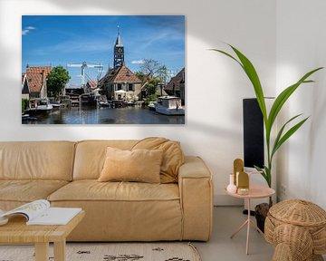 Karakteristiek Friesland, Hindeloopen, 2020 van Anna den Broeder