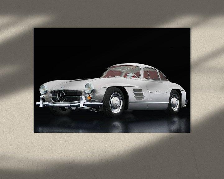 Sfeerimpressie: Mercedes 300 SL Gullwings van Jan Keteleer