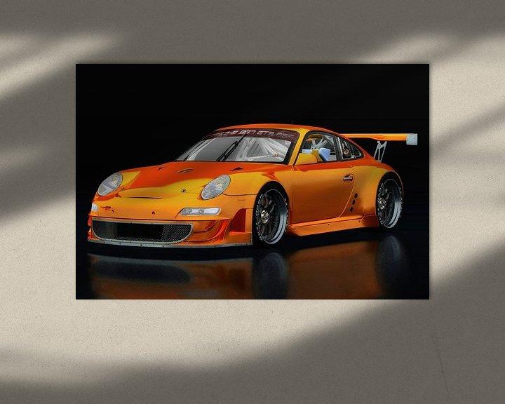 Sfeerimpressie: Porsche GT3 RS van Jan Keteleer