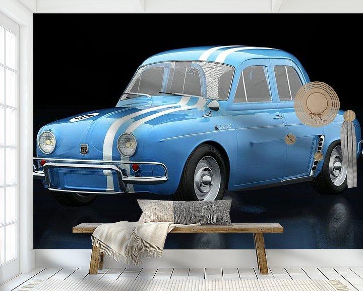 Beispiel fototapete: Renault Gordini von Jan Keteleer