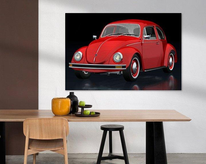 Sfeerimpressie: Volkswagen Kever van Jan Keteleer
