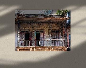 Verlassenes Haus in Panama-Stadt / Altes Haus in Panama-Stadt von Henk de Boer