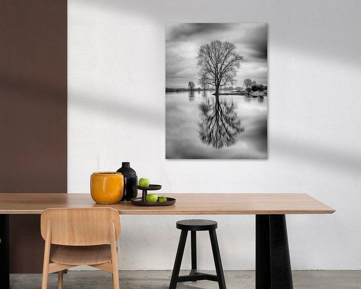 Sfeerimpressie: Spiegelbeeld van Mark Bolijn