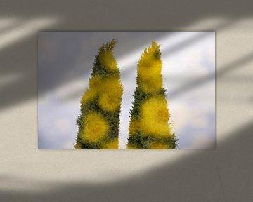 Met z'n twee van Tot Kijk Fotografie: natuur aan de muur