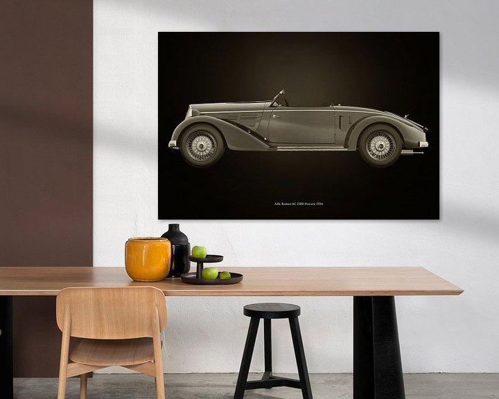 Sfeerimpressie: Alfa Romeo 6C 2300 Pescara van Jan Keteleer