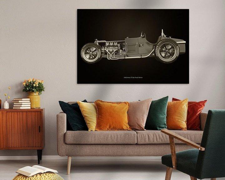Sfeerimpressie: Alfa Romeo P3 Rat-Road Editie van Jan Keteleer