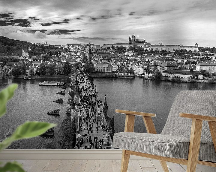 Impression: Le pont Charles à Prague sur Marian Sintemaartensdijk