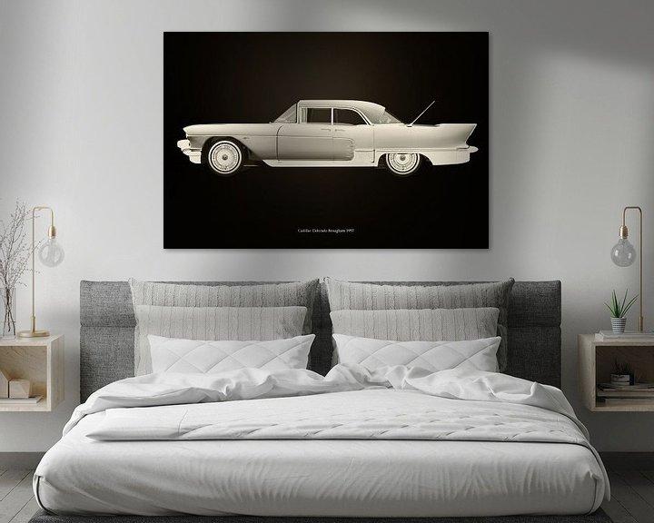 Sfeerimpressie: Cadillac Eldorado Brougham gebouwd in 1957 van Jan Keteleer