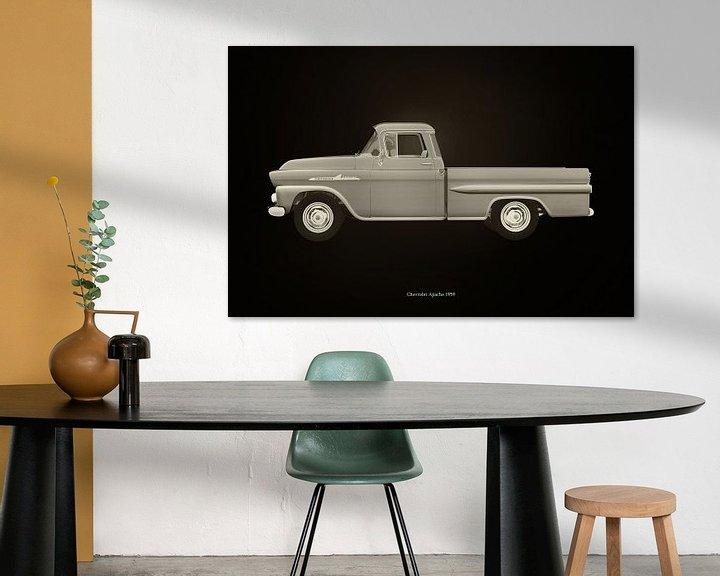 Sfeerimpressie: Chevrolet Apache 1959 van Jan Keteleer